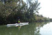 caiac-speciality-baidarka-hibiscus-sport; foto: echipa HS, Lacul Bascov