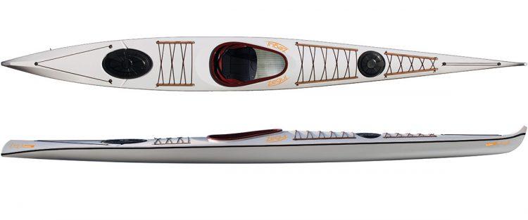 Sea kayak Baidarka