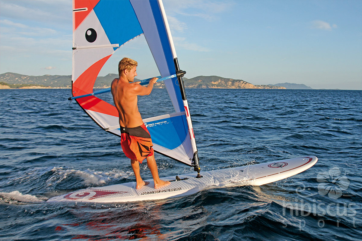 Placa Sup Performer 11 6 Wind Hibiscus Sport