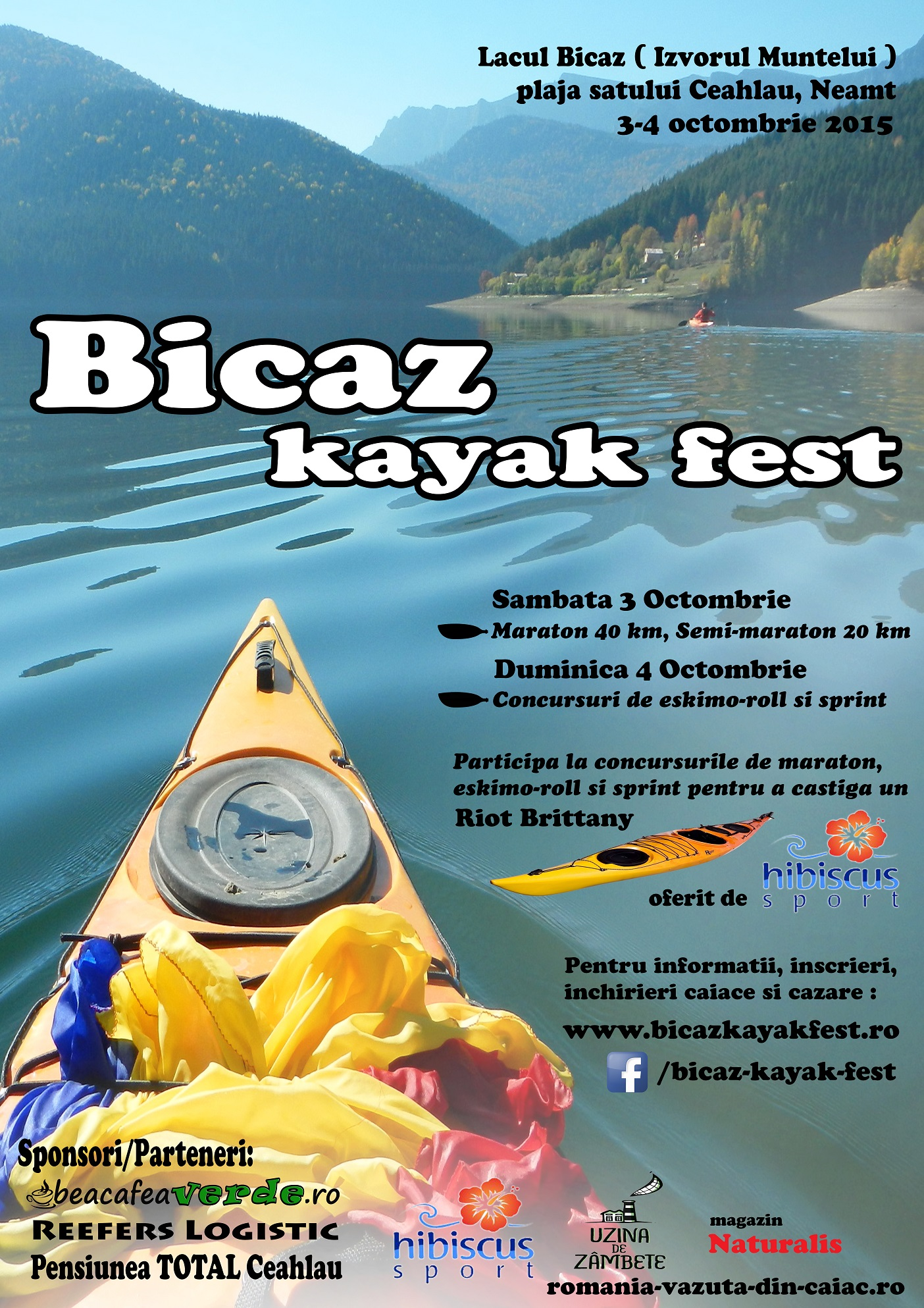 afis BIcaz Kayak FEST