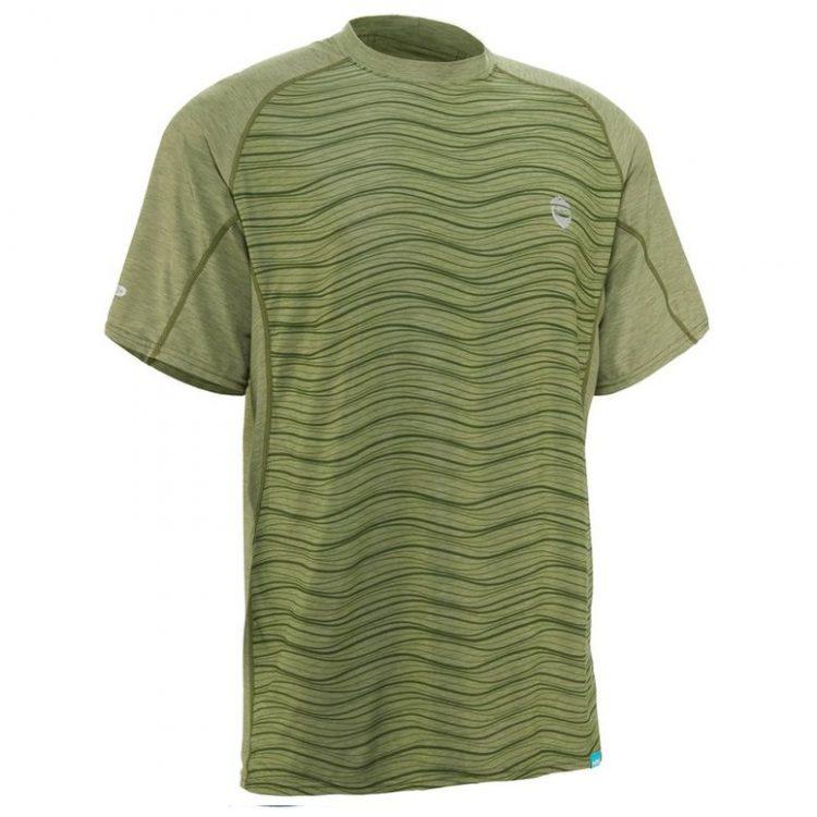 tricou-maneca-scurta-protectie-UV-Silkweight-Olive