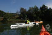 Caiac Baidarka, Lacul Bascov
