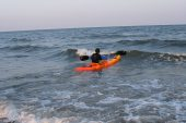 caiac-Enduro12-Marea-Neagra, foto: Hibiscus Sport, Marea Neagra, in caiac: Dragos C
