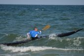 Caiac Grenland, Marea Neagra, foto: HS. in caiac: Dragos