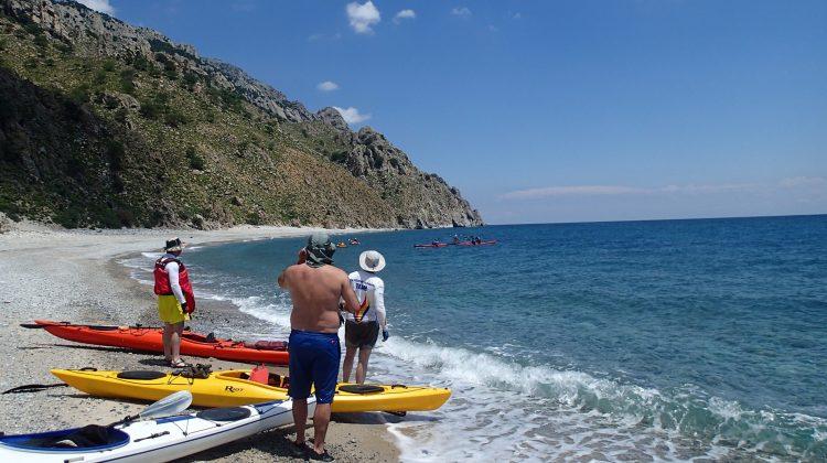 Tura si curs de caiac in Samothraki, Grecia