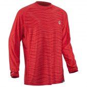 tricou-NRS-Silkweight-protectie-UV-50-rosu-Salsa