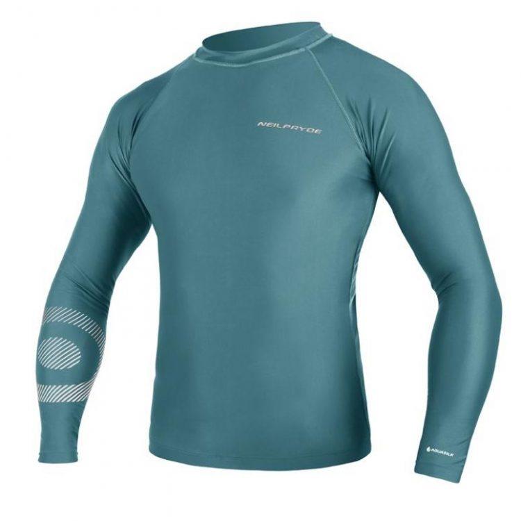 tricou-protectie-UV-50+-Mission-albastru