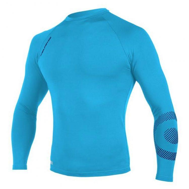 tricou-protectie-UV-50+-Rise-albastru